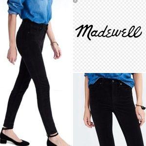Madewell | Skinny Skinny Velvet Pants
